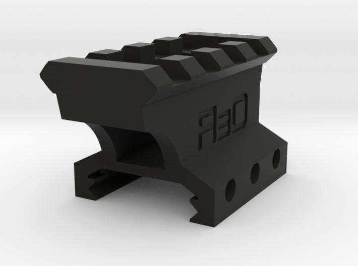 22mm High 3 Slots to 4 Slots Picatinny Riser (Offs 3d printed