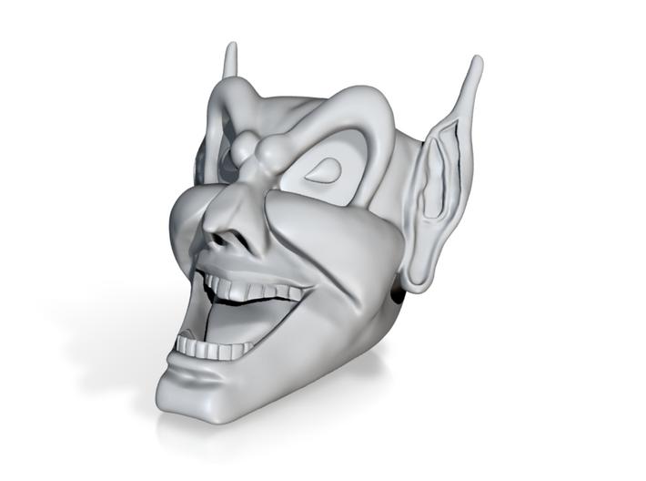 Goblin head hood v2 3d printed