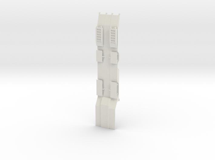 000471 Tieflader für Baumaschinen HO 1:87 3d printed