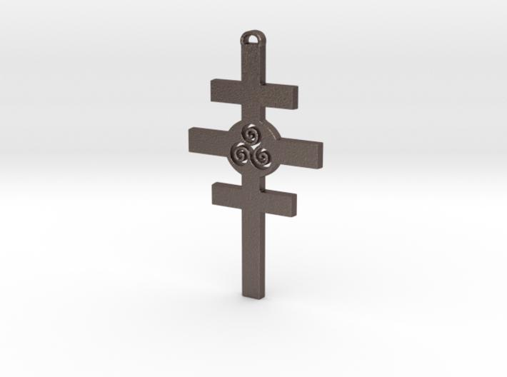 Celtic Cross of Damcar 3d printed