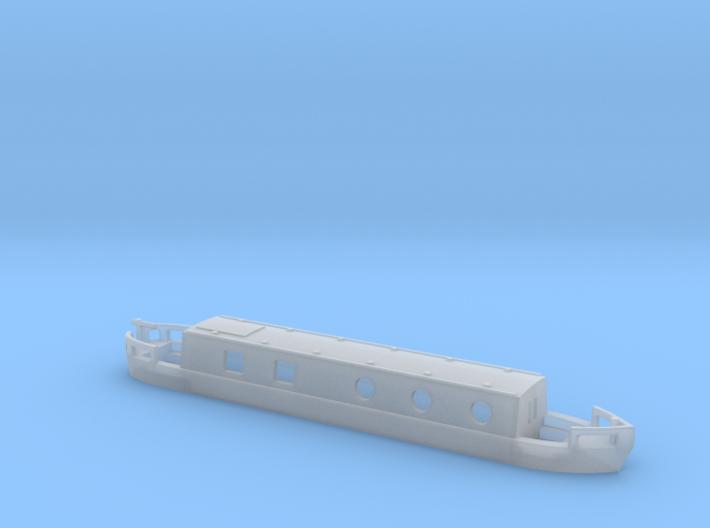 N Gauge Narrow Boat 13.7m 3d printed