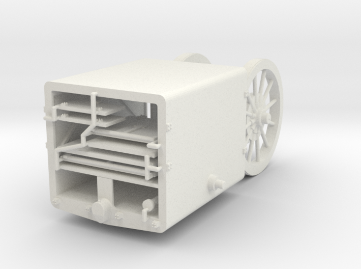 1/35th scale Uhri ammonution trailer 3d printed