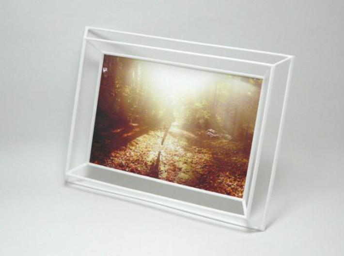 3D Photo Frame 3d printed 3D Photo Frame White
