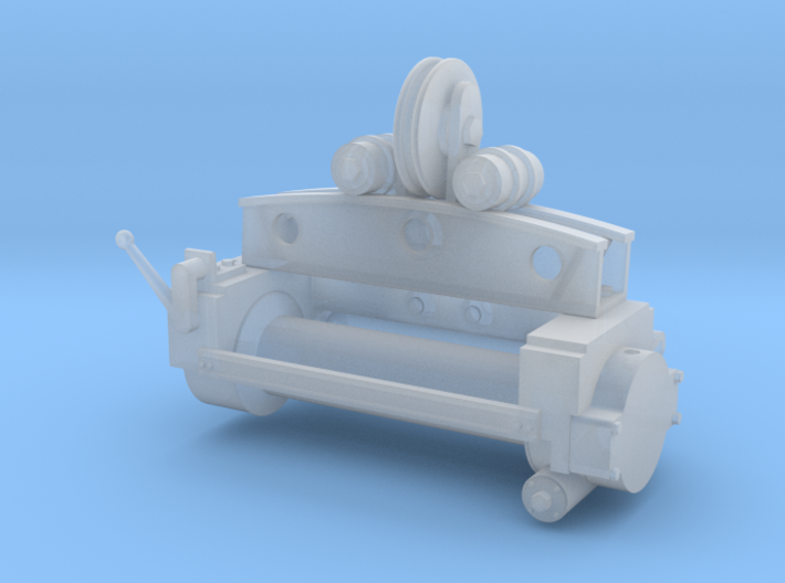 Military Wrecker Winch 1/35 Scale 3d printed