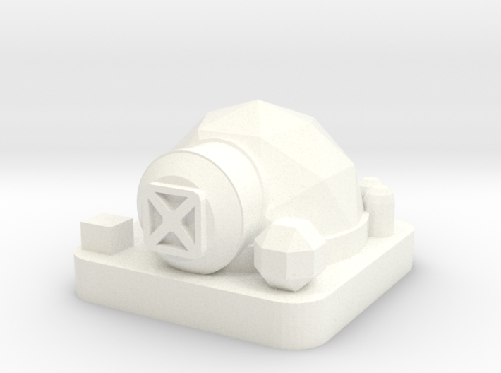 Mini Space Program, Habitat Dome 3d printed