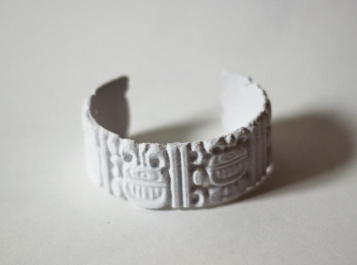 Mayan Date Bracelet 3d printed