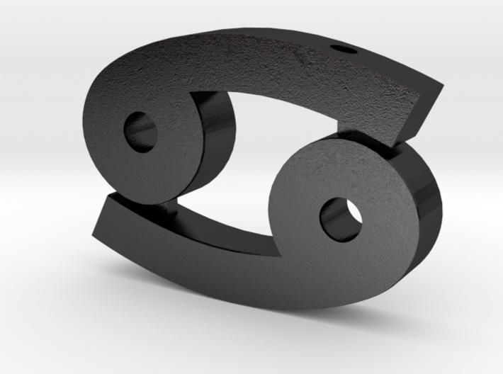 Cancer Symbol Pendant 3d printed