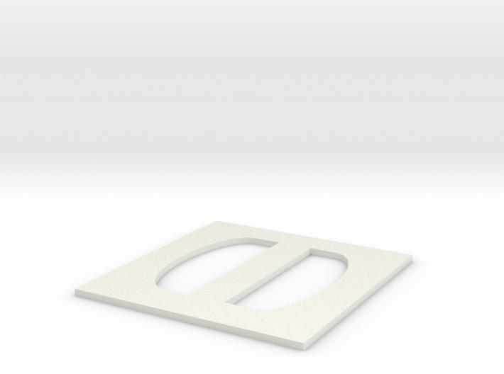 Simple Large Buckle 3d printed