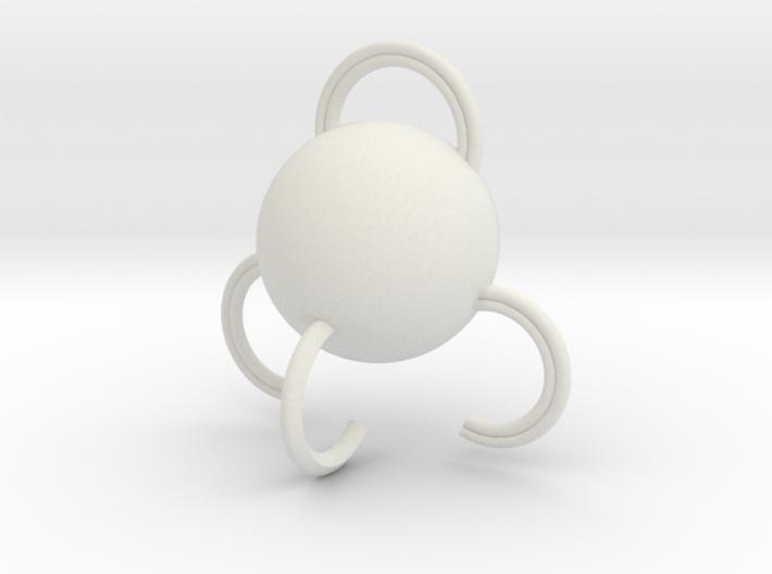 Portable hook 3d printed