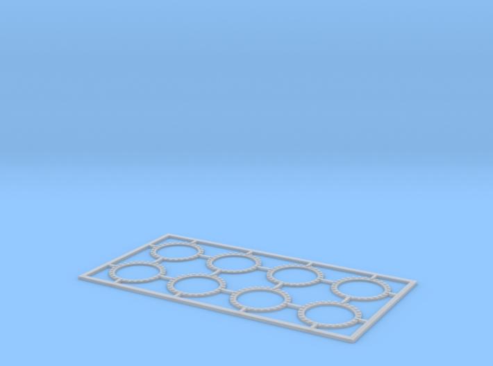 Flange 9 mm 1:100 3d printed