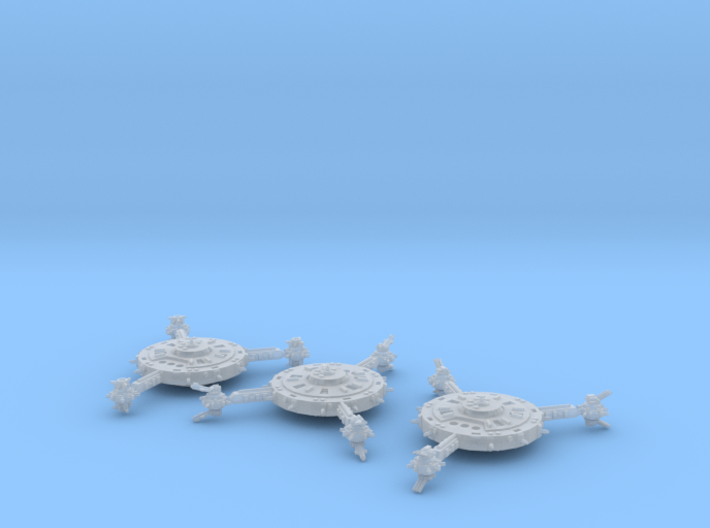 Orbital Defense Platforms (3) 3d printed