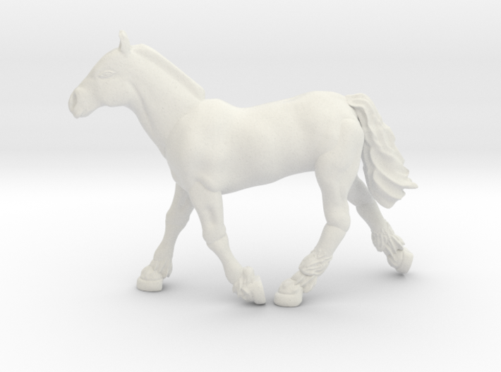 Horse Dolly 3d printed