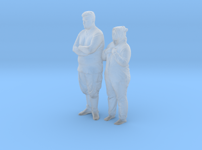 Printle C Couple 072 - 1/87 - wob 3d printed