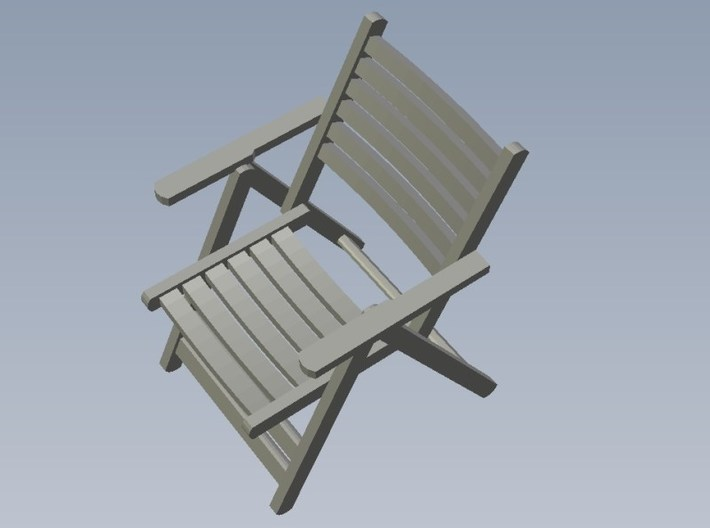 1/35 scale wooden chairs set B x 15 3d printed