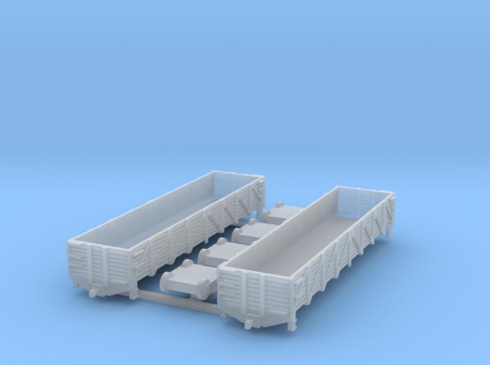40 ft. Composite Gondola Wagon 1/200 3d printed