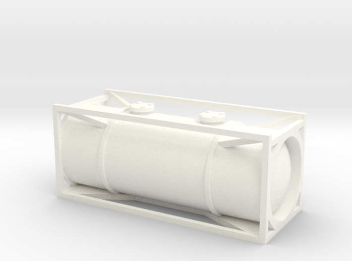 N Gauge Generic 20Ft Tank Container 3d printed
