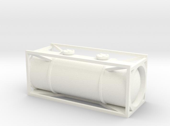 N Gauge Generic 20Ft Tank Container 3d printed