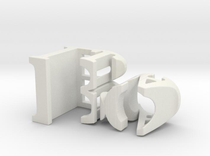 3dWordFlip: Bo/Lisa 3d printed