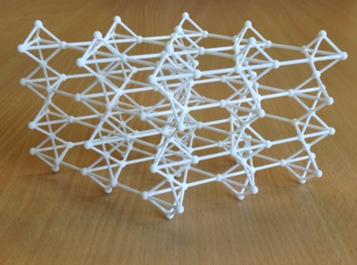 swedenborgite lattice 3d printed