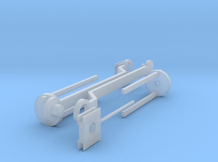 Hornby 0-4-0 Valve Gear 3d printed