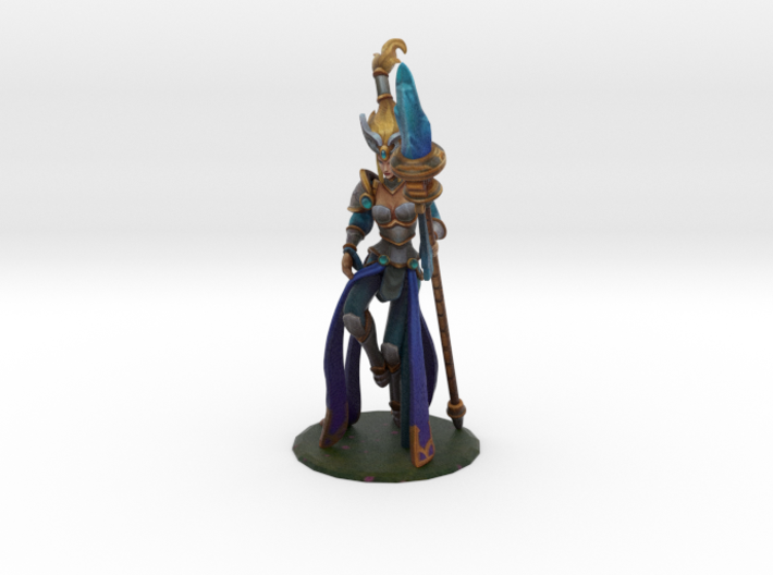 Victorious Janna (old) 3d printed