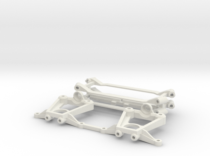 SUR & SOUS CHASSIS - MR 03 KYOSHO - 3d printed