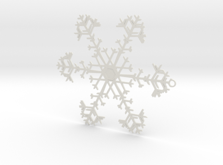 Snowflake Ornament - 8675309 3d printed