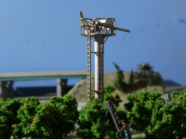 N Scale Tropic Breeze Orchard Wind Generator 3d printed Completed model