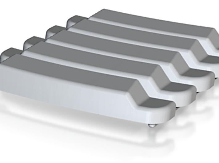 H0 1:87 Sonnenblende für Iveco 24,5mm 3d printed