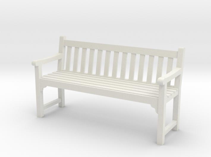 Park Bench 3d printed