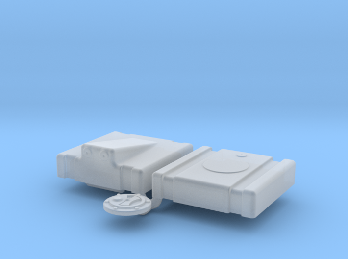 1/24 Fuel Cell Jaz 5gal 13 13 8 Sump 3d printed