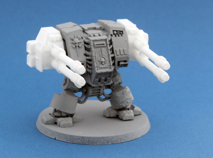 Dreadnought Autocannon arms, 28mm v1.3 3d printed