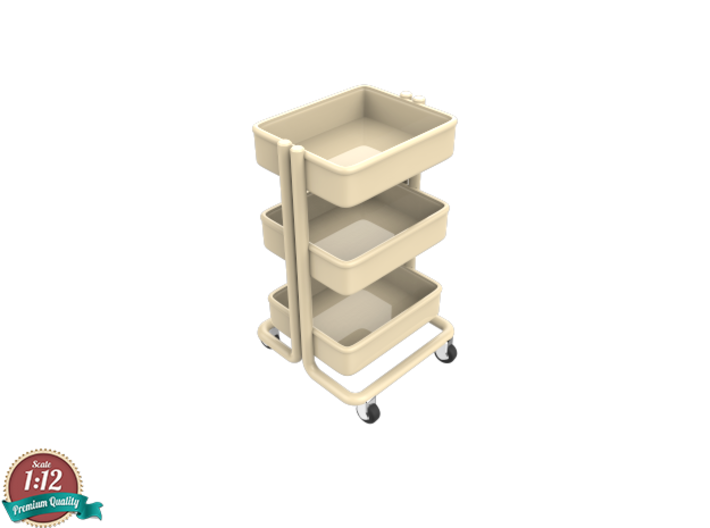 Miniature Kitchen Cart - IKEA 3d printed Miniature Kitchen Cart - IKEA