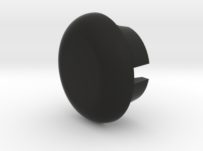 RH 20th Century English Media Console Knob 3d printed