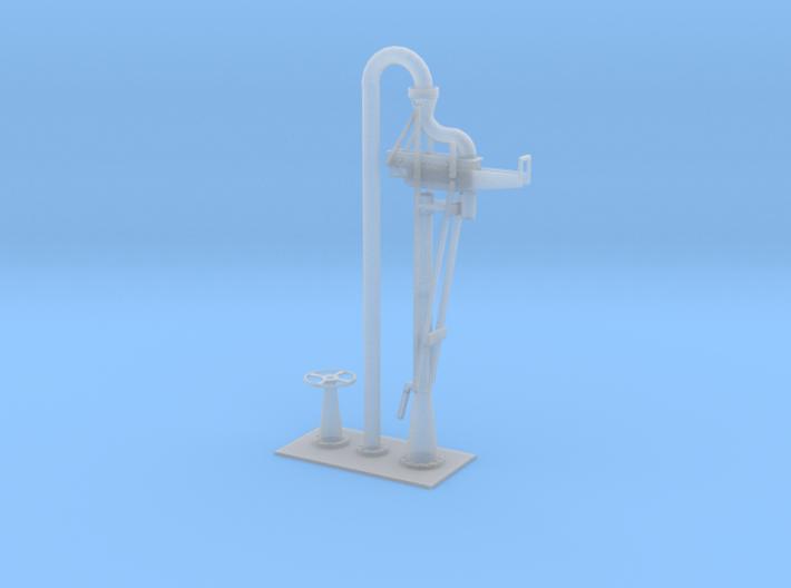 Wasserkran Bayerisch H0 und 0 3d printed
