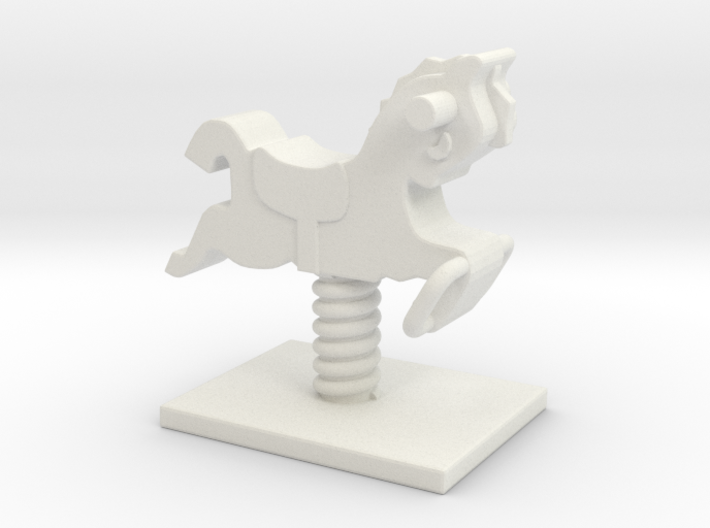 Playground Spring 01. 1:35 Scale 3d printed