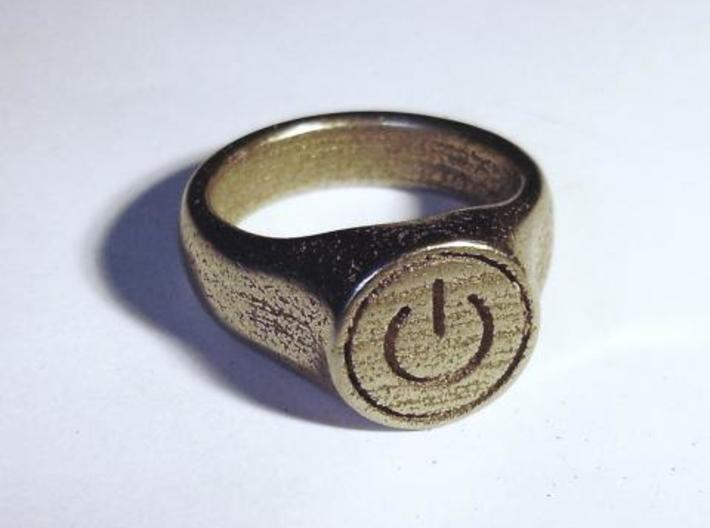 Power Ring 3d printed front angle