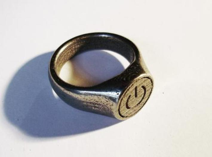 Power Ring 3d printed angle