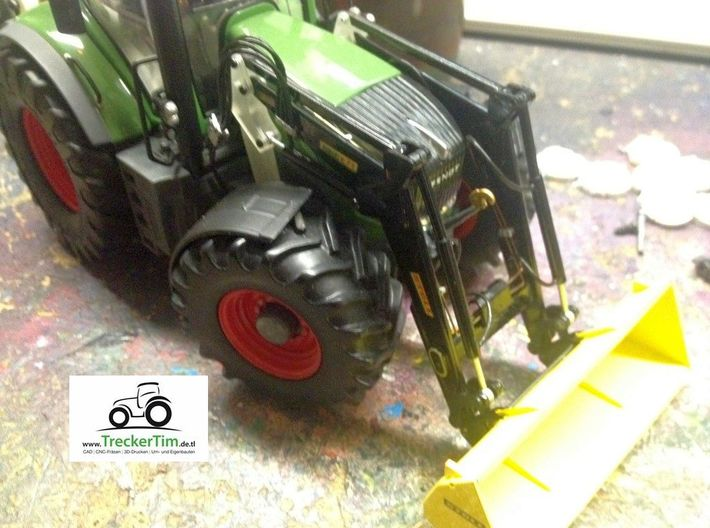 Wiking Fendt 828 Stoll Frontlader Konsole 3d printed
