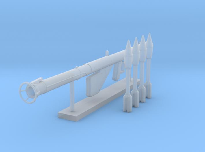 Bazooka Pack (1:18 Scale) 3d printed
