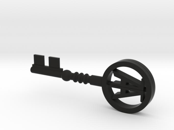 Wade's Copper key 3d printed