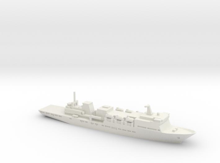 Type 920 Hospital Ship, 1/2400 3d printed