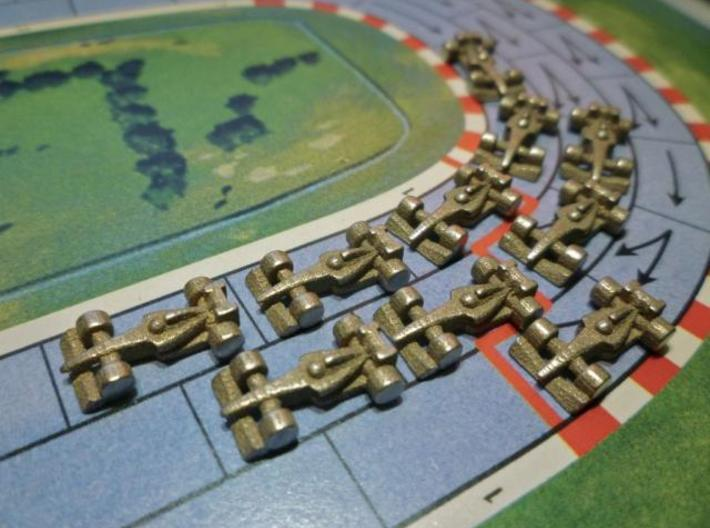 Formula 1 Miniatures - 2011 3d printed Stainless Steel 1