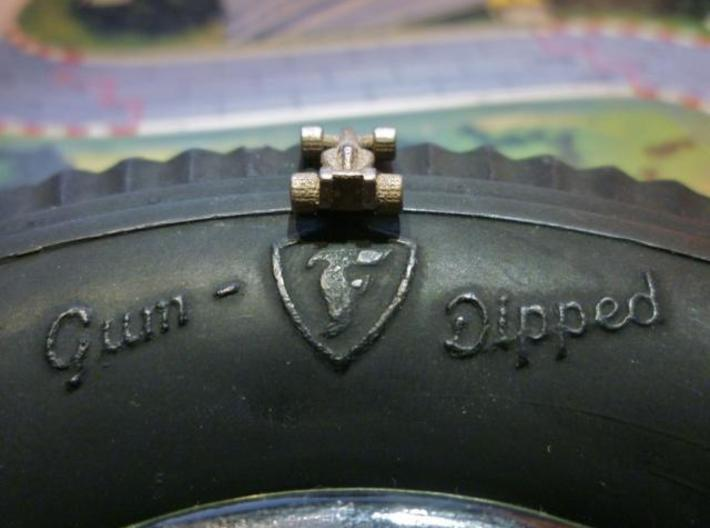 Formula 1 Miniatures - 2011 3d printed Stainless Steel  4