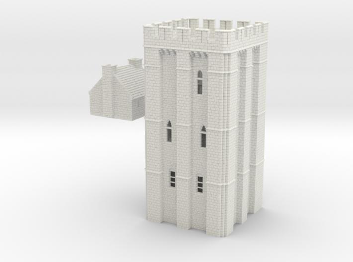 HOF041 - Castle keep 3d printed