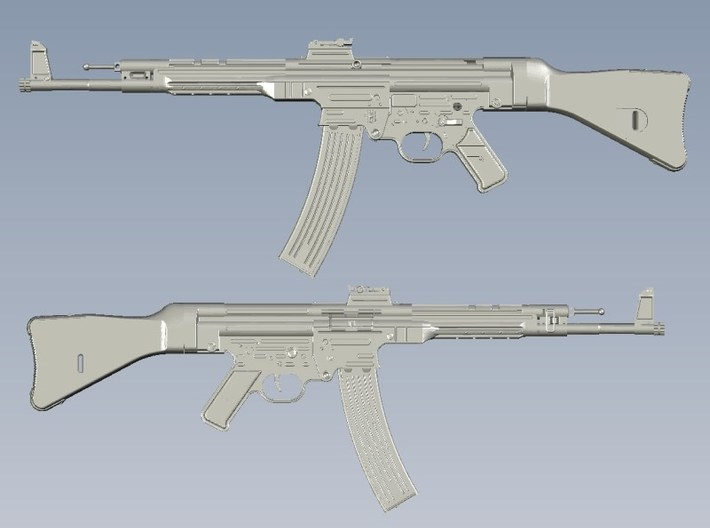 1/25 scale SturmGewehr StG-44 assault rifles x 5 3d printed
