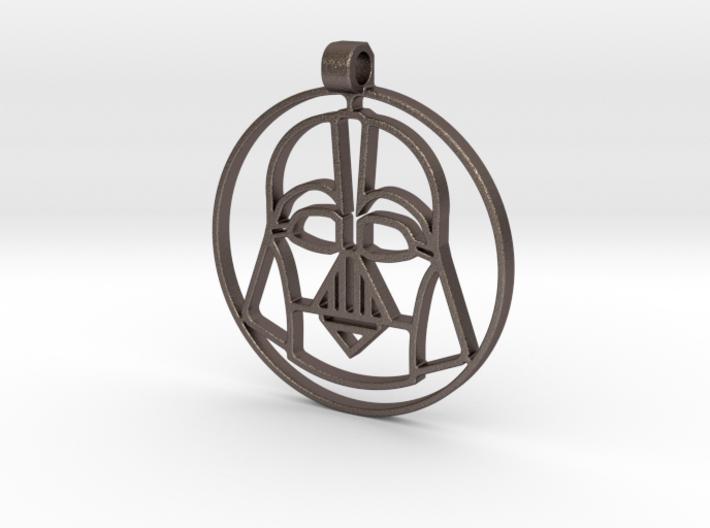 Darth vador pendant 3d printed