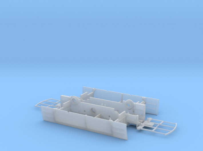 009 Tram Style Coach 3d printed