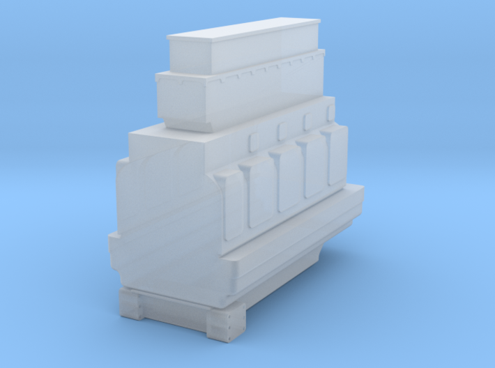 4SKRT Engine 3d printed