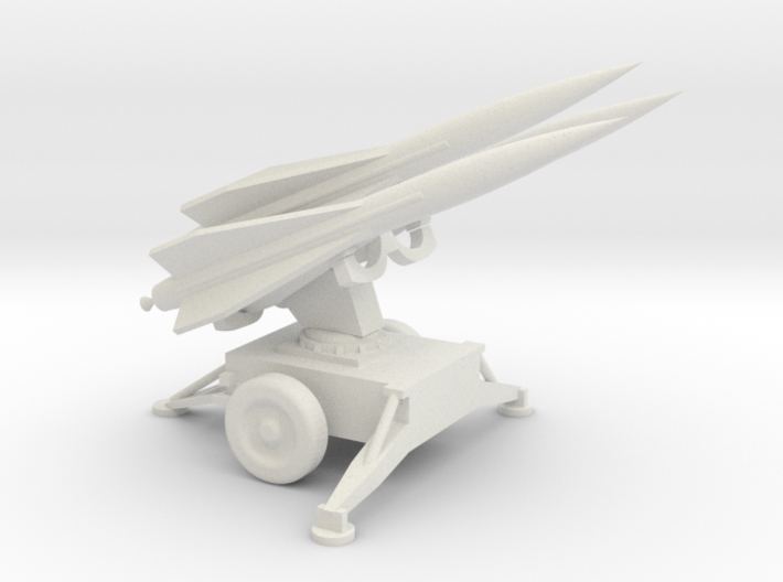 1/72 Scale Hawk Missile Launcher With Missiles 3d printed